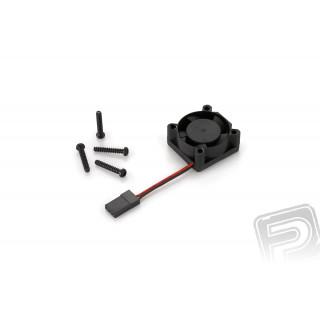 Ventilátor 2510SH-6V, 12.000ford./min. - fekete -B