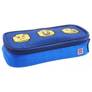 LEGO školní pouzdro hranaté - Faces Blue