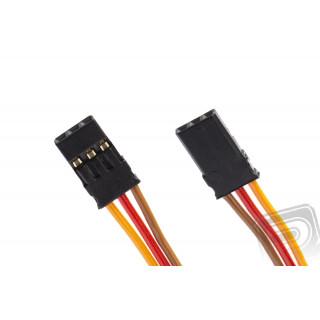 PATCH kábel 100mm, JR 0,25qmm lapos PVC kábel, 1 db.