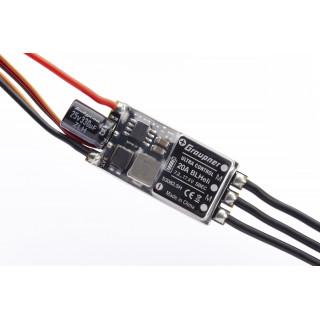 ULTRA 20A BL HELI SBEC 2-4S regulátor, XT-30 a SH servokonektorem