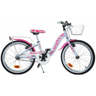 """DINO Bikes - Dětské kolo 20"""" Aurelia růžové"""