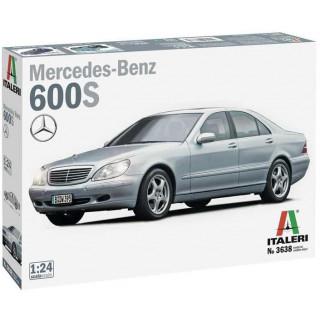 Model Kit auto 3638 - Mercedes Benz 600S  (1:24)