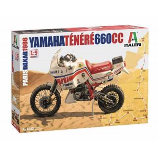 Model Kit motorka 4642 - Yamaha Tenere 660 cc Paris Dakar 1986 (1:9)