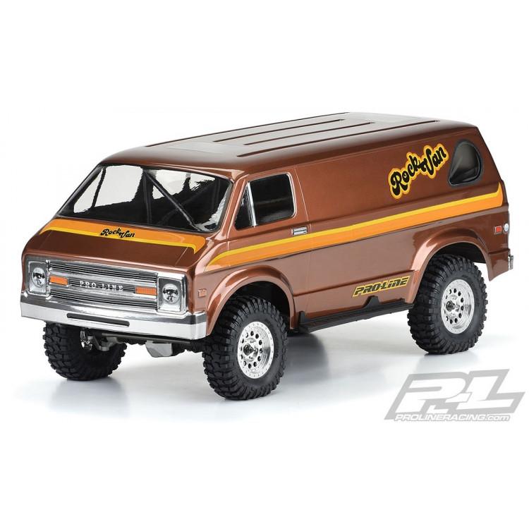 Karoserie čirá '70s Rock Van pro (12.3) 313mm podvozky