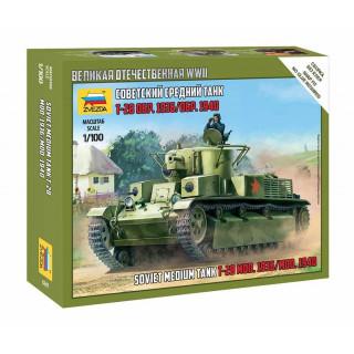 Snap Kit tank 6247 - T-28 Soviet Tank (1:100)