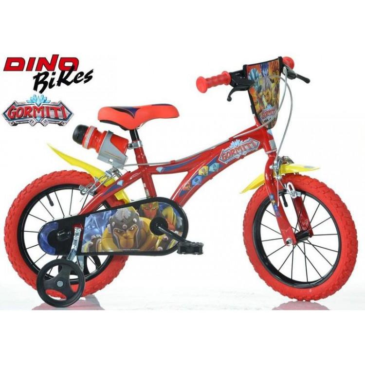 "DINO Bikes - Dětské kolo 14"" Gormiti"