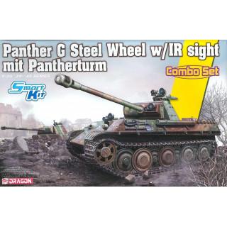 Model Kit tank 6941 - Panther Ausf.G Late Production (Steel Wheel) mit Pantherturm (1:35)