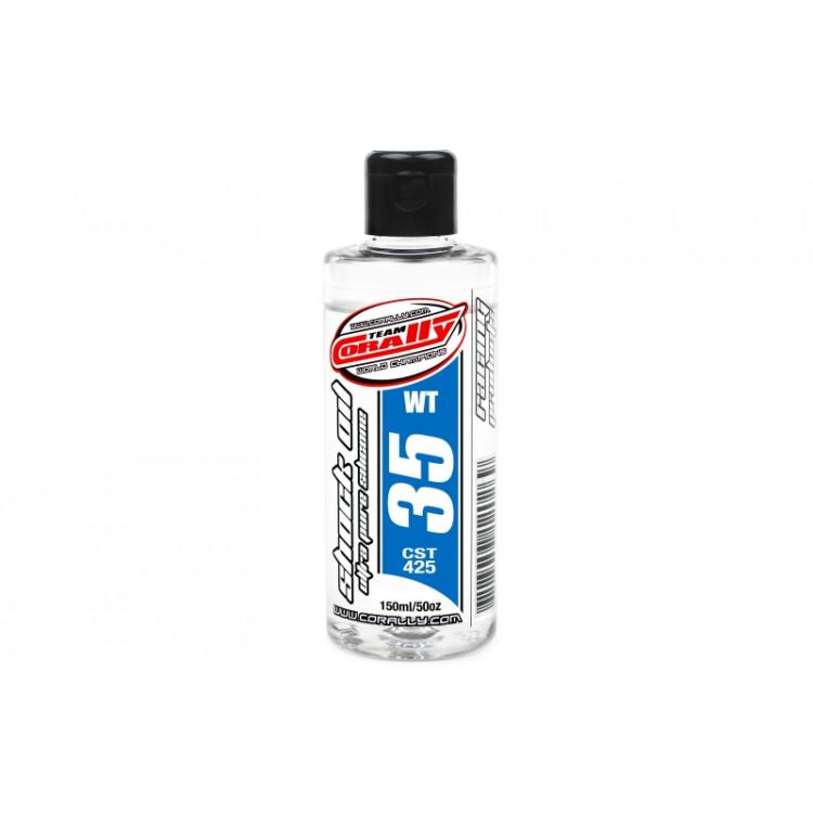 TEAM CORALLY - silikonový olej do tlumičů 35 WT (150ml)