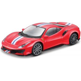 Bburago Ferrari 488 Pista 1:43 piros