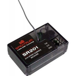 Spektrum přijímač SR201 DSM 2CH Sport Coated