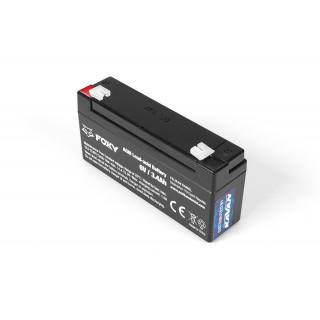Foxy PB akkumulátor 6V/3.4Ah