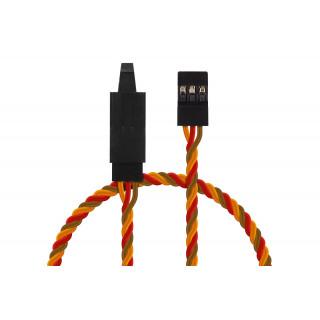 JR026 prodlužovací kabel kroucený 120cm JR s pojistkou