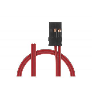 Napájecí Rx kabel 200mm, JR 0,25qmm PVC, 1 ks.
