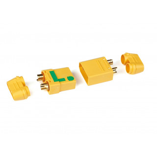 XT90 konektor, samice + samec (ANTI SPARK), 1 pár
