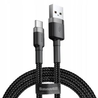 Cafule kabel USB do Type-C 3.0A 1m (šedo-černý)