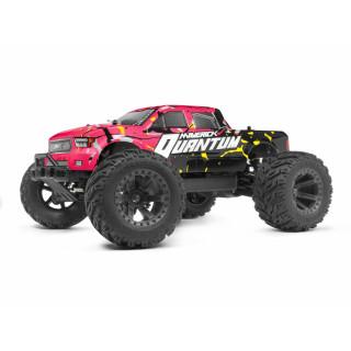 Quantum MT 1/10 4WD Monster Truck - Růžový