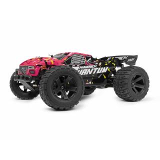 Quantum XT 1/10 4WD Stadium Truck - Růžový