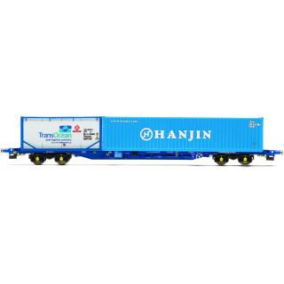 Tehervagon HORNBY R6793 - Tiphook KFA Container Wagon