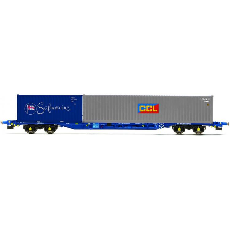 Vagón nákladní HORNBY R6794 - Tiphook KFA Container Wagon