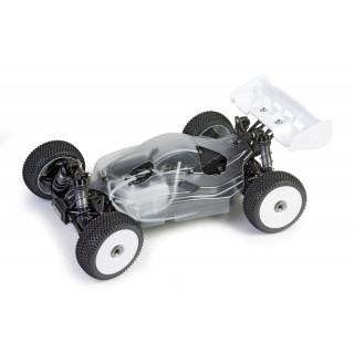 Hyper VS Pro Nitro Buggy alváz 80% tejszín, RC felszerelés nélkül