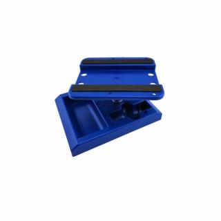 Otočný stojánek pro RC AUTA, modrý