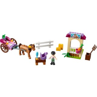 LEGO Juniors - Stephanie a kočár s koníkem