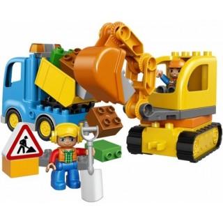 LEGO® DUPLO Teherautó és lánctalpas exkavátor LEGO® 10812