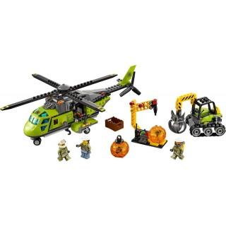 LEGO City Sopečtí průzkumníci - Sopečná zásobovací helikoptéra