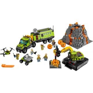 LEGO City Sopečtí průzkumníci - Sopečná základna průzkumníků