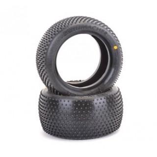 Schumacher 1/10 MINI PIN 1 hátsó - keverék sárga - 1/10