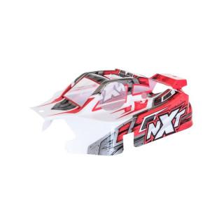 NXT GP 2.0 piros lakkozott lexán karosszéria