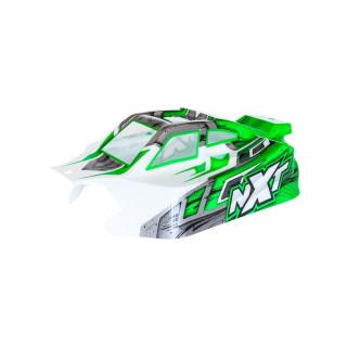 NXT EP 2.0 zöld lakkozott lexán karosszéria