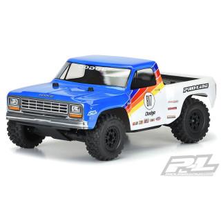 Áttetsző karosszéria 1984 Dodge Ram 1500 Race Truck