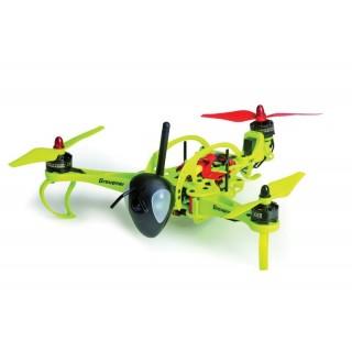 HoTT-Hornet 250 Tricopter šasi, žluté