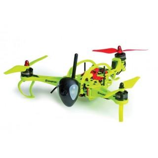 HoTT-Hornet 250 Tricopter, žluté