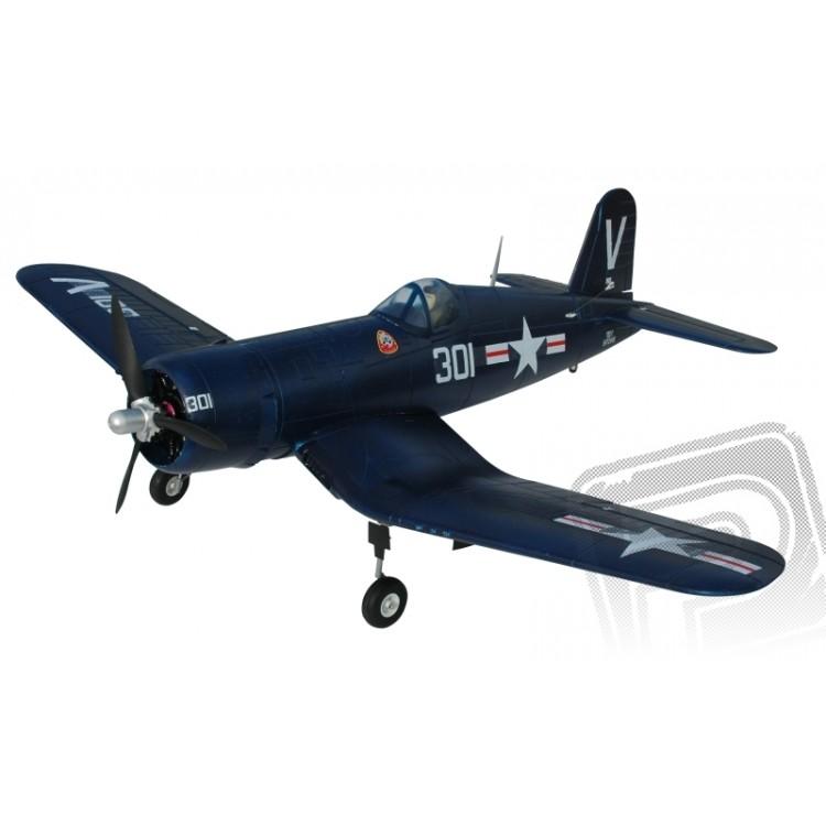 F4U Corsair - ARF (modrá, el. zatahovací podvozek)