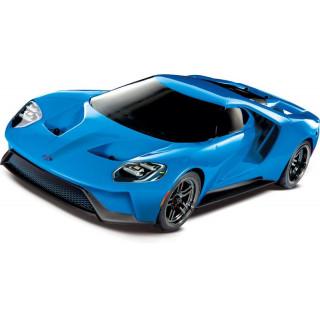 Traxxas Ford GT 1:10 TQi RTR Grabber kék