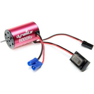 Dynamite vált. áramú motor 6000 ford./V, szabályozó: Mini-T 2.0