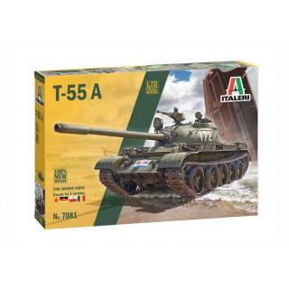 Model Kit tank 7081 - T-55 A (1:72)