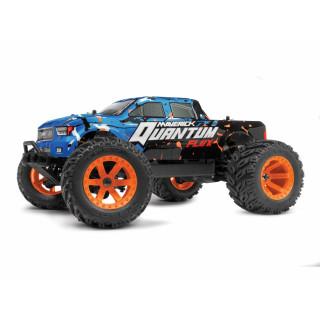 Quantum MT Flux 80A 1/10 4WD Monster Truck - Modrý