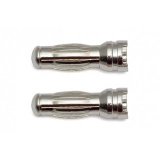 Reedy Low Profile G5 stříbrný konektor, 2 ks.