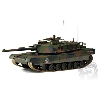 Harcjármű: M1A1 Abrams 1:16, RC tank 27MHz