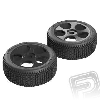 Exabyte BGY 6S pneu/disk černý (2 ks.)