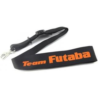 Futaba Team Jeladó - nyakszíj, fekete-narancssárga