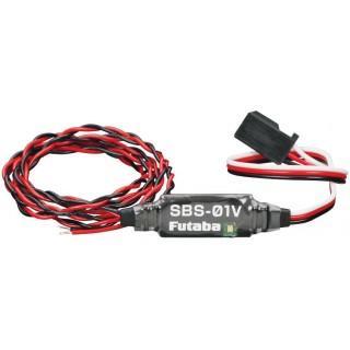 Futaba telemetrie - externí senzor napětí SBS-01V