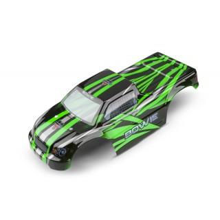 Lakkozott karosszéria a Zenit MT-hez, zöld