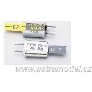 Futaba kristály kvarc Tx AM 40835 CH 83