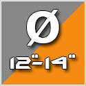"""Átmérő 12-14"""""""