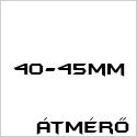 Átmérő 40-45mm