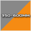 350-600mm